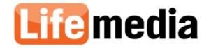 ライフメディアのロゴ画像